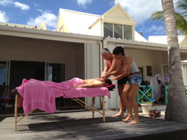 saint martin initiation massage